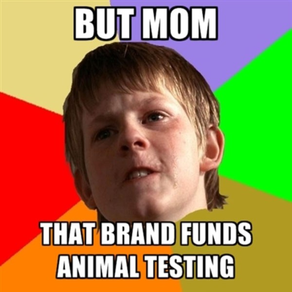 angry vegan kid meme