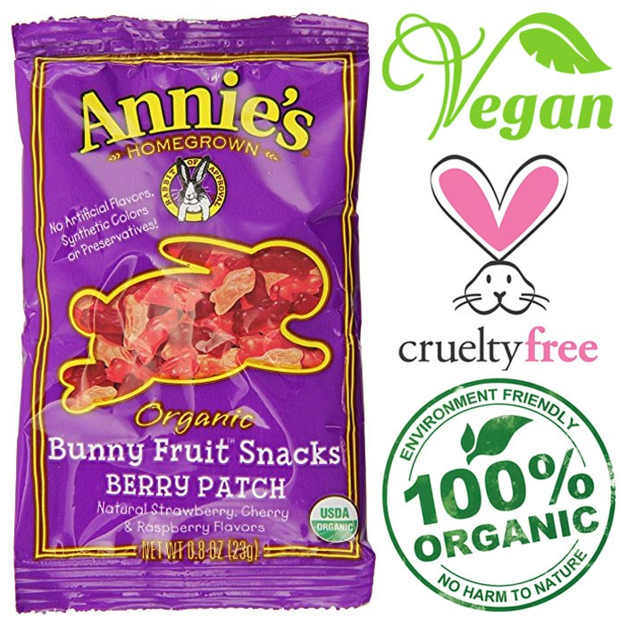 organic vegan gummy rabbits