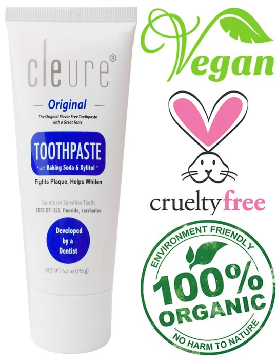 cleure toothpaste
