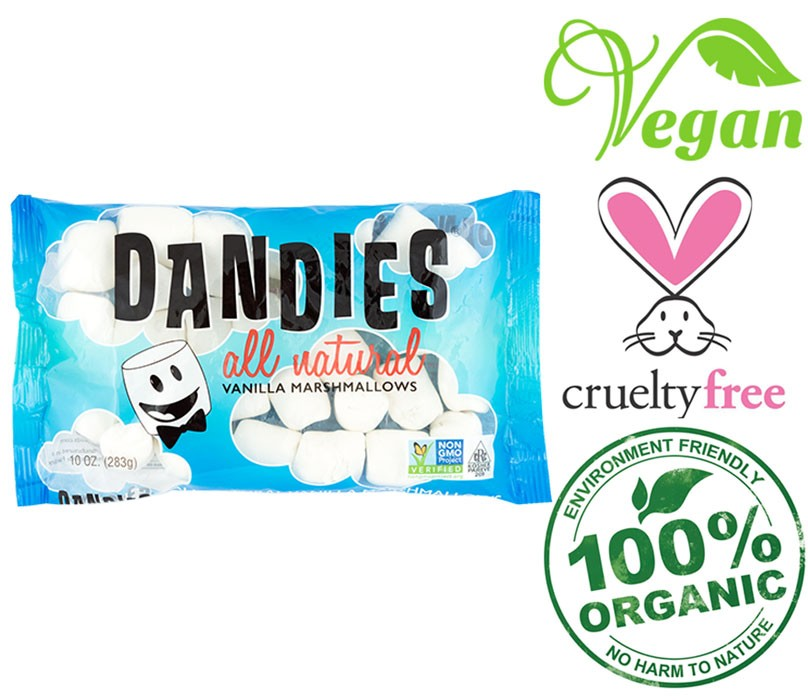 all natural dandies marshmallows