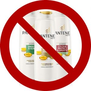 pantene not vegan shampoo