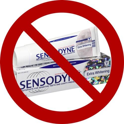 sensodyn not vegan