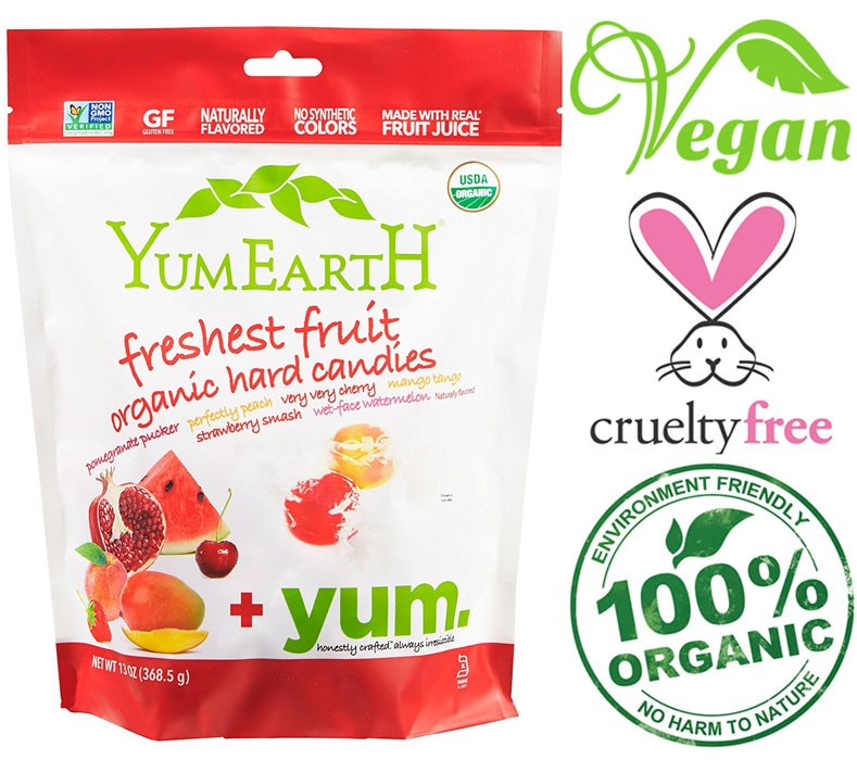 vegan fruit drops