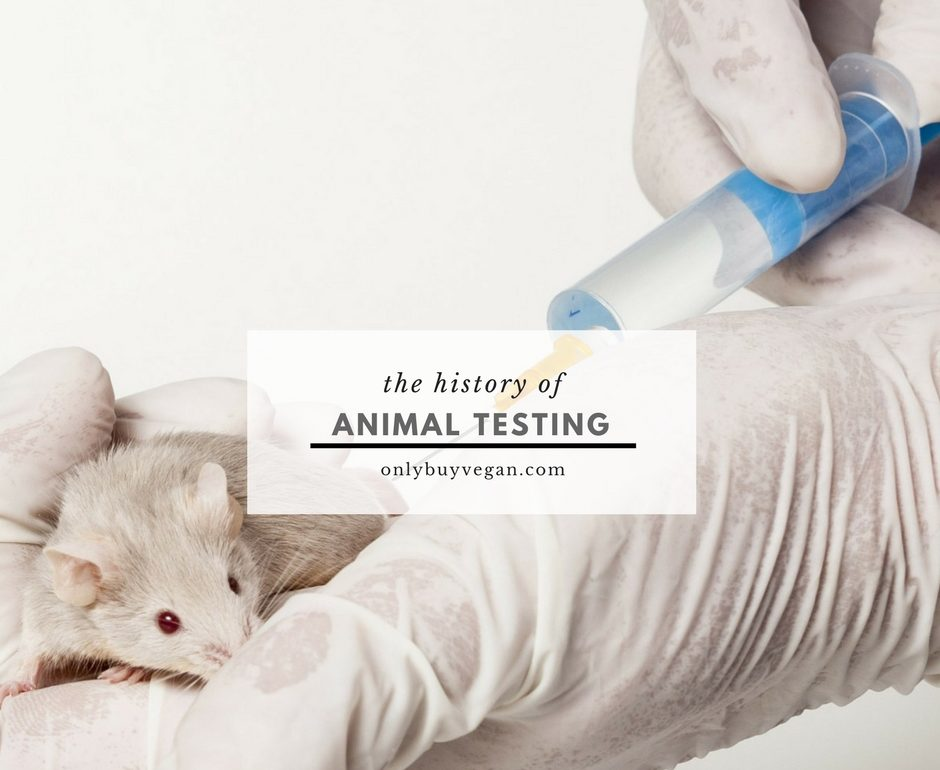 history of animal testing cover pic