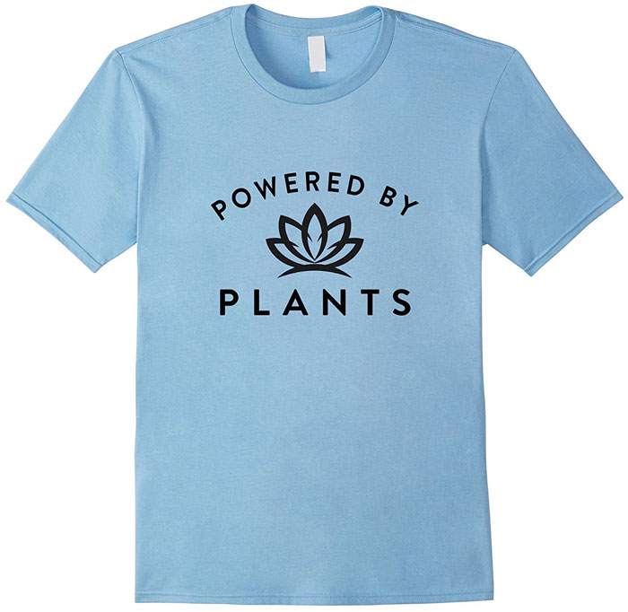 vegan plant powered shirt