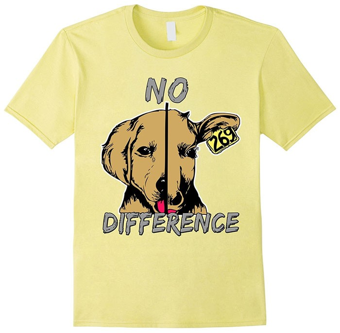 vegan difference shirt