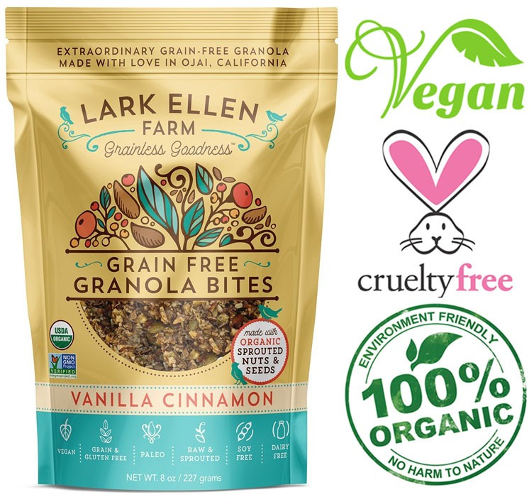 lark ellen farm vegan cereal