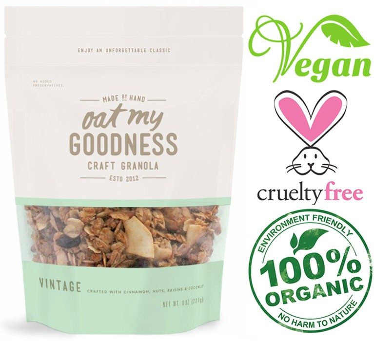 10 delicious vegan cereals to start your morning off right oat my goodness granola ccuart Gallery