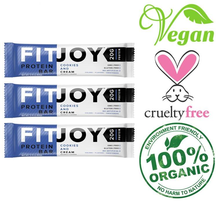 fitjoy gluten free bars
