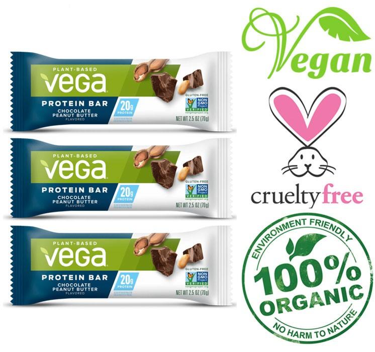 vega organic vegan bars