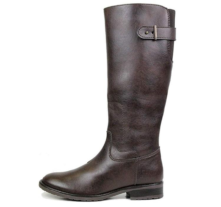 vegan knee length boots