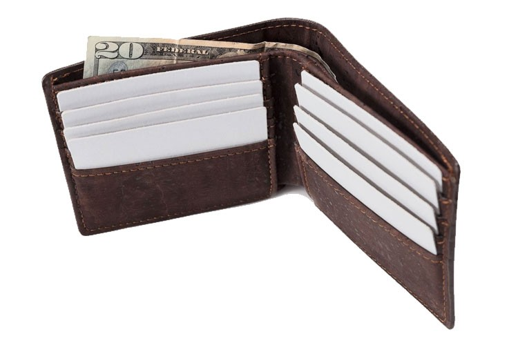 corkor cruelty free wallet for men