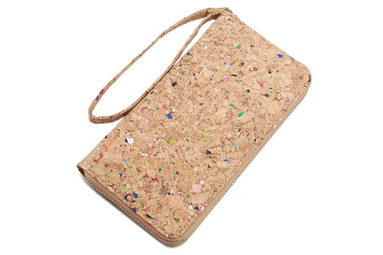 lam gallery vegan cork wallet