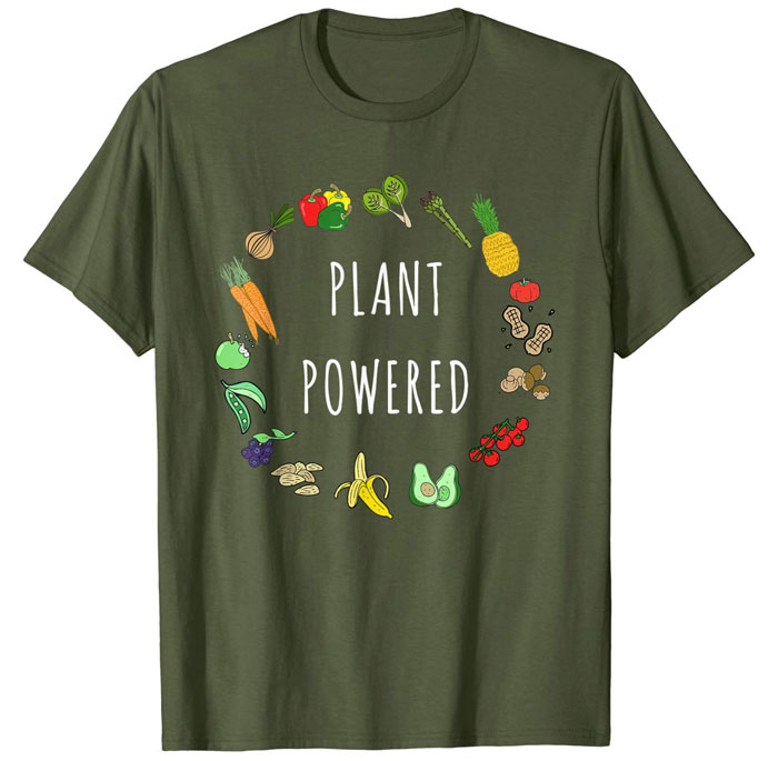 fruit and veg shirt