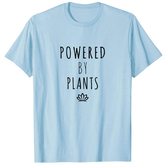 vegan slogan shirt