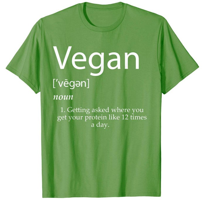 vegan definition shirt