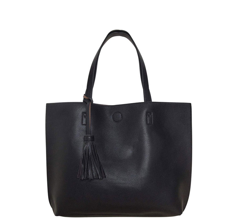 humble chic vegan leather tote bag