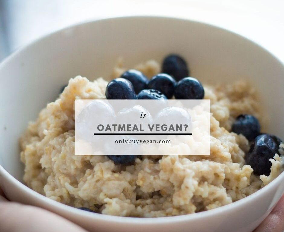 is oatmeal vegan cover