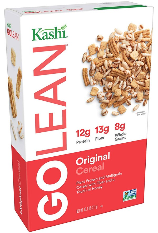 kashi golean cereal box