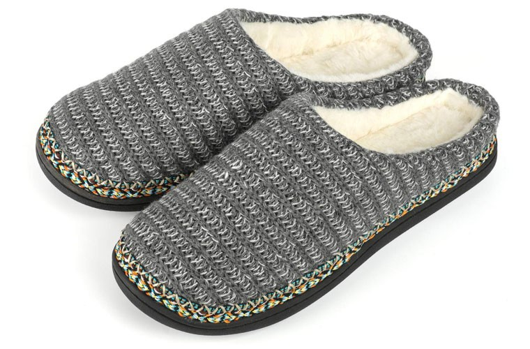 rockdove knit slippers