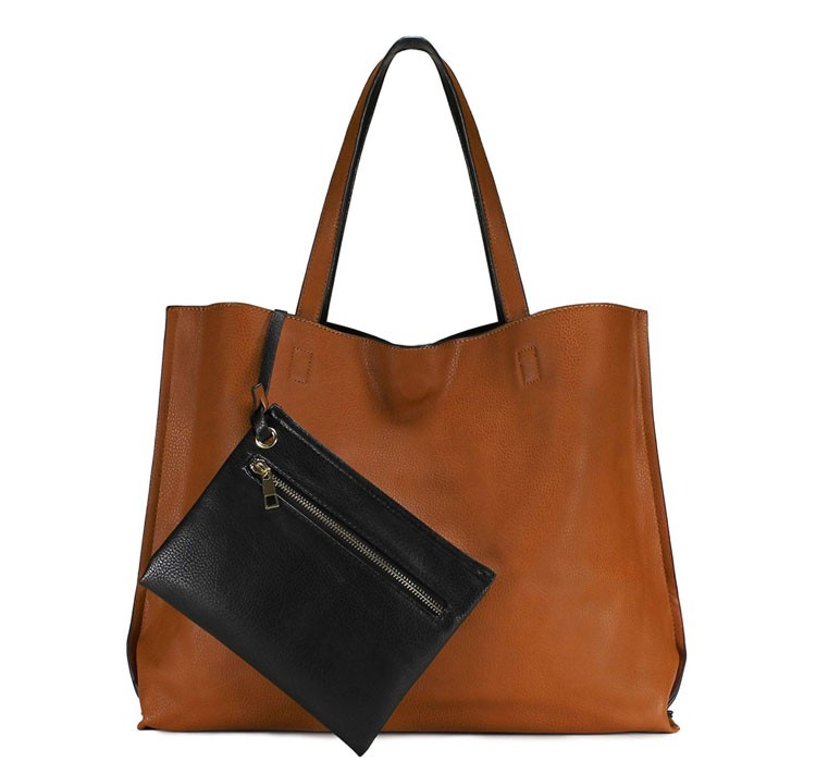 scarleton reversible tote bag