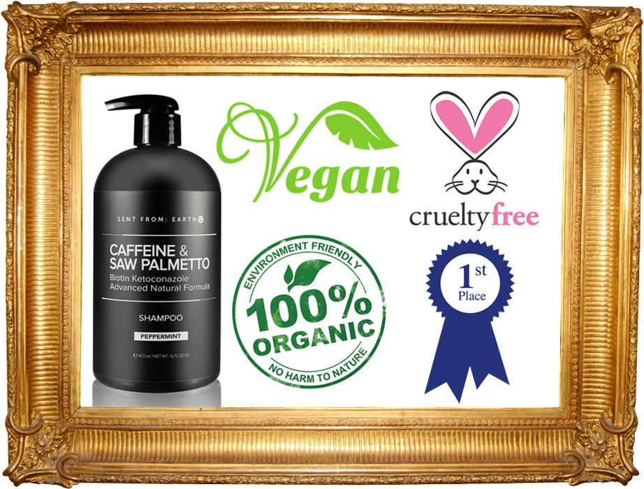 sent from earth vegan shampoo