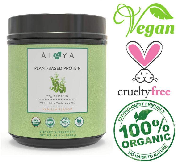 alaya dairy free protein powder