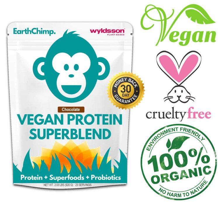 earthchimp dairy free protein powder
