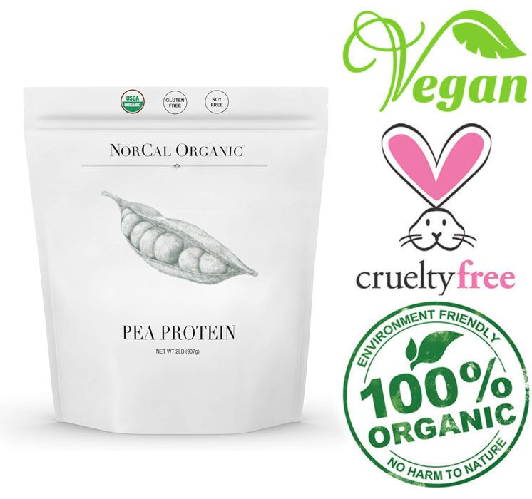 organic source pea protein powder